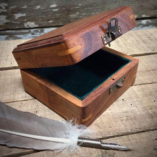 Wooden Compass Box
