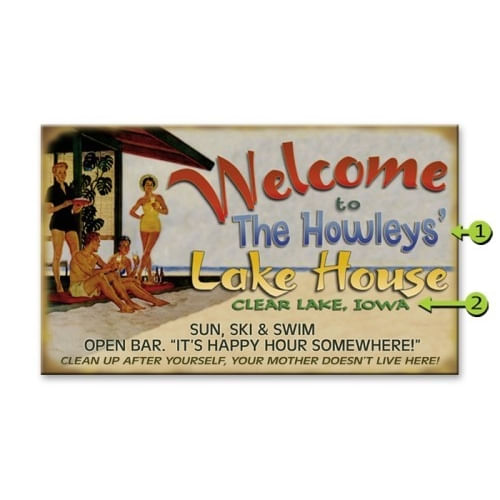 Welcome-to-the-Lake-House-Funny-Retro-Personalized-Sign-6107-3