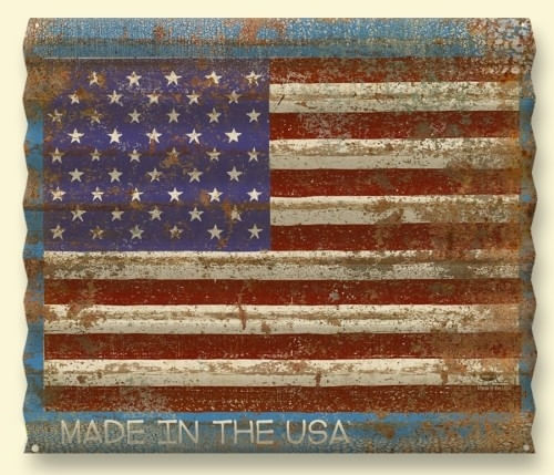American-Flag-Distressed-Corrugated-Metal-Personalized-Sign-11150