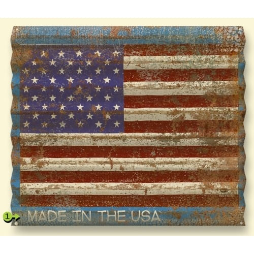 American-Flag-Distressed-Corrugated-Metal-Personalized-Sign-11150-3