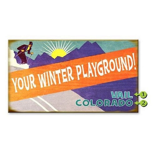 Retro-Winter-Playground-Personalized-Wood-or-Metal-Sign-13954-3