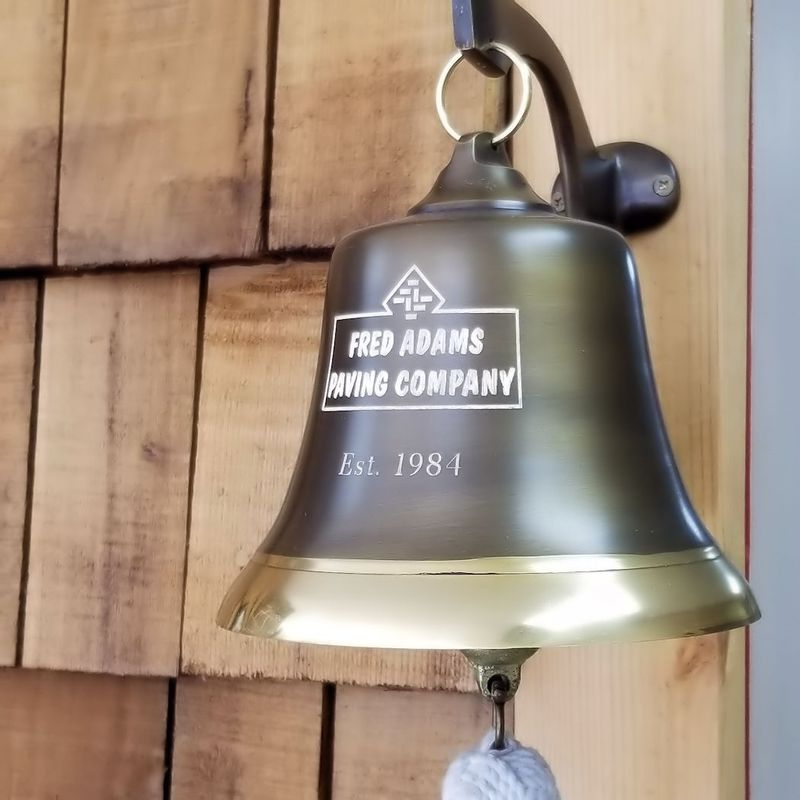 7-Inch-Two-Toned-Brass-Engravable-Wall-Bell---45-pounds-8188-5
