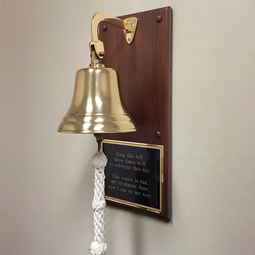 Personalized Commemorative Plaque Bell - Polished