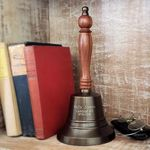 Large-Brass-Hand-Bell---11-Inch-Tall---Antiqued-9765