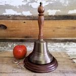 Large-Brass-Hand-Bell---11-Inch-Tall---Distressed-6040-3