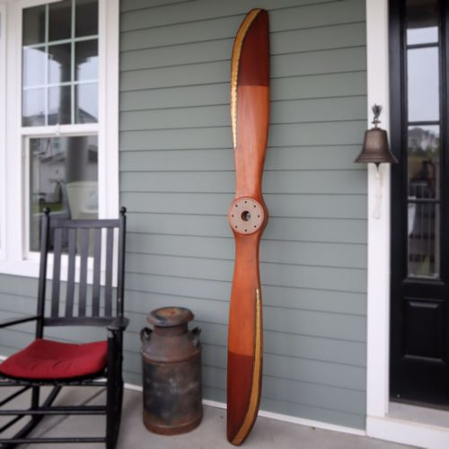 Curtiss Jenny Replica Wood Propeller-Painted