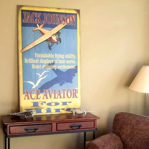 Ace Aviator Personalized Pilot Sign