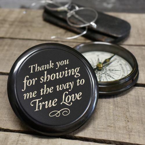 True Love Brass Compass
