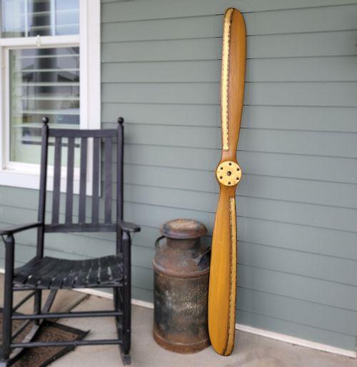 70in Light Oak Stained Mahogany Propeller