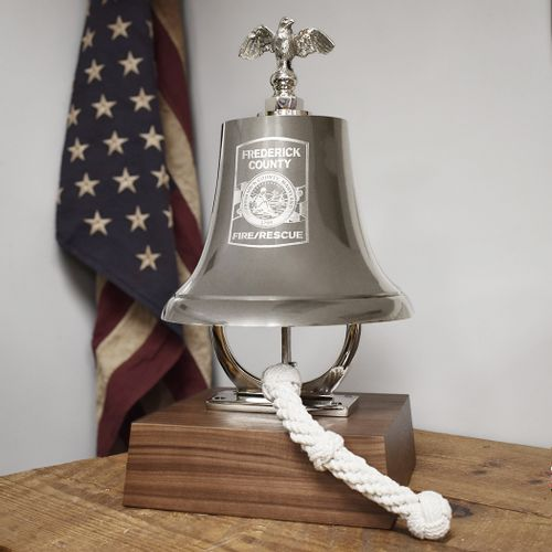 Large Deluxe Eagle Memorial Bell