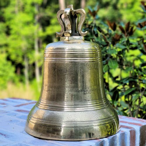 14 Inch Distressed Mission Bell