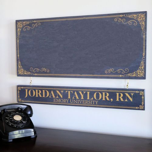 Personalized Nameboard For Sign