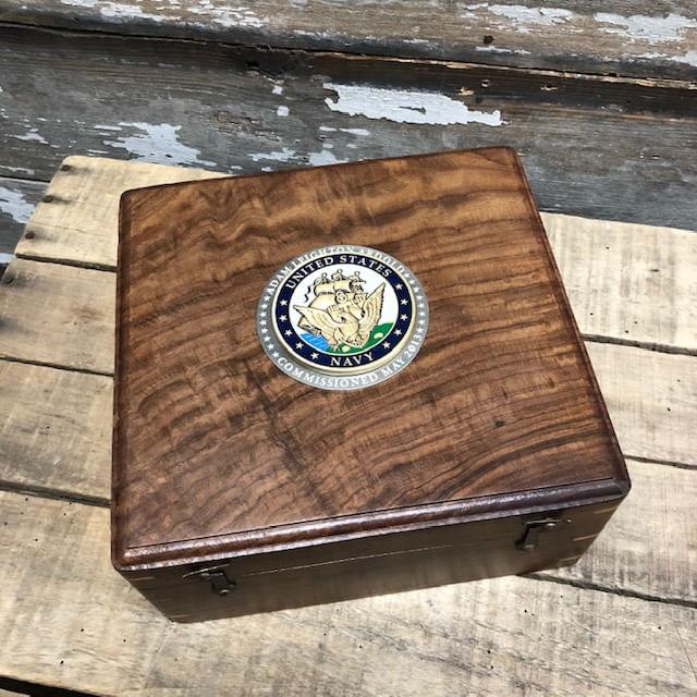 Navy-medallion-box