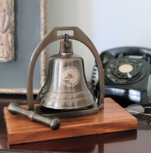 Pre-Order 5 Inch Antique Desk Bell With Striker
