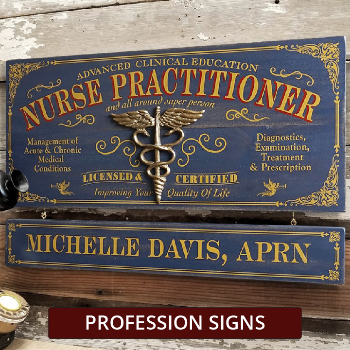 Profession Signs